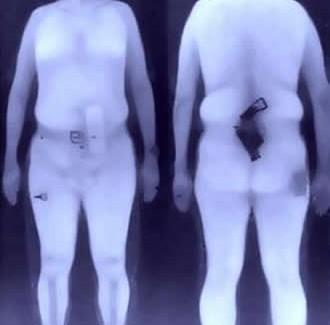 Escáner que desnuda a pasajeros en los aeropuertos