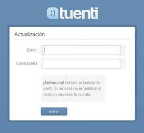 """¡Peligro! Virus en Tuenti: """"Nueva versión, actualiza tu perfil"""""""