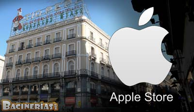 Nueva apple store ocupar el edificio del t o pepe en madrid for Edificio puerta del sol