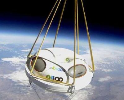 Viajar al espacio en globo, gracias a un ingeniero español