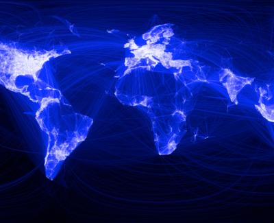 La red de amistades de Tuenti y Facebook plasmada en un mapa