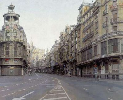 Antonio López expone sus cuadros en el Museo Thyssen-Bornemisza de Madrid