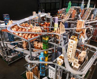 Metropolis II, una ciudad en miniatura con 1.100 coches funcionando