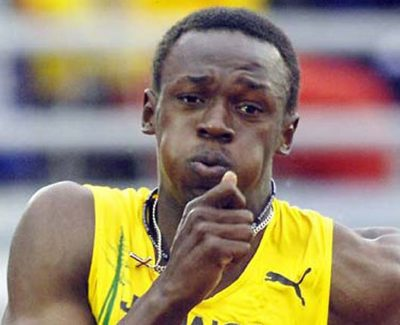 Usain bolt, descalificado de la final de Daegu 2011