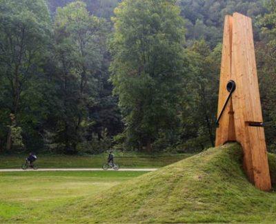 Pinza Monumental, probablemente la mayor del mundo