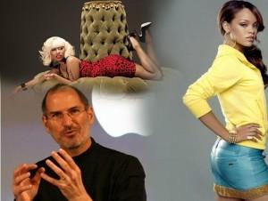 Curioso 'mash-up' de Rihanna y Nicki Minaj con Steve Jobs