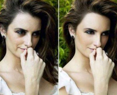 Famosos con Photoshop: antes y después [Recopilación]