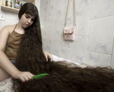 Los cabellos más largos del mundo