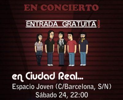 Concierto de 'Blister' en Ciudad Real (sábado 24 de marzo; entrada gratuita)