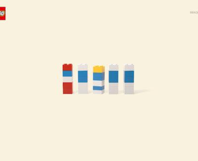 Curiosa campaña publicitaria: «LEGO Imagine» en imágenes