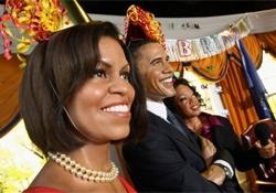 Sortean boletos para asistir al cumpleaños de Obama