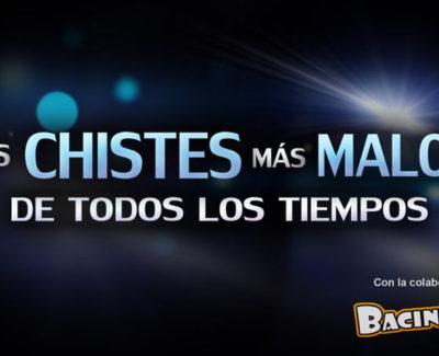 """""""Los chistes más malos de todos los tiempos"""", nueva webserie en Bacinerias.com"""