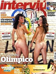 Atletas olímpicas españolas se desnudan por dinero