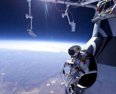 Record mundial: Felix Baumgartner salta desde la estratosfera