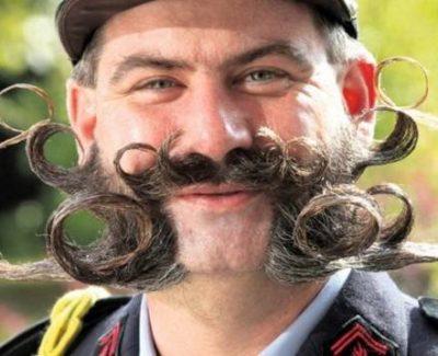 Los bigotes más raros del mundo