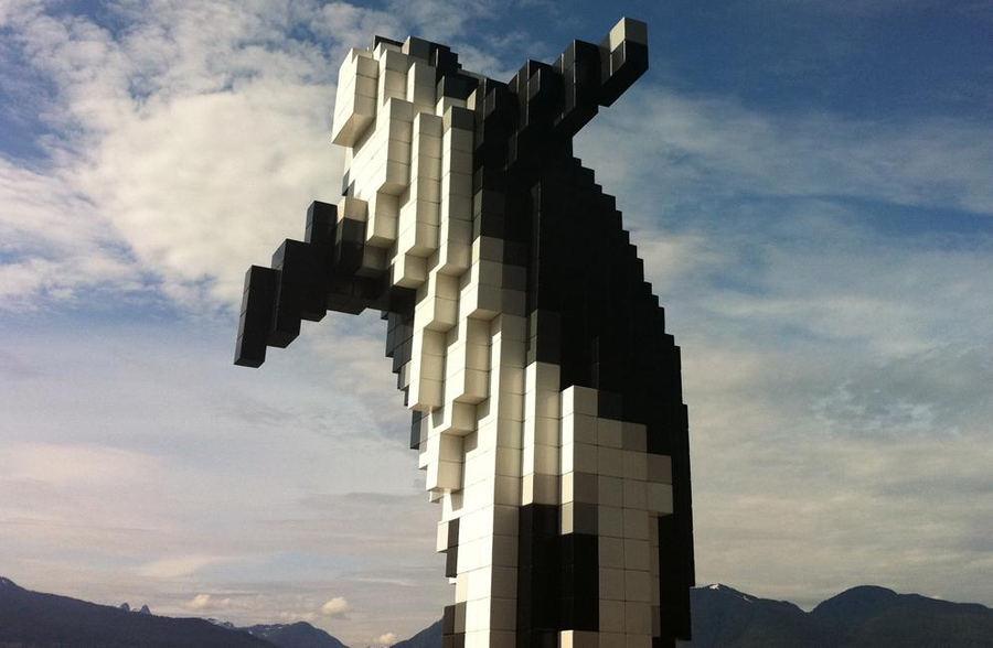 La Orca Digital (Vacouver, Canadá). Foto: sillygwailo/Flickr