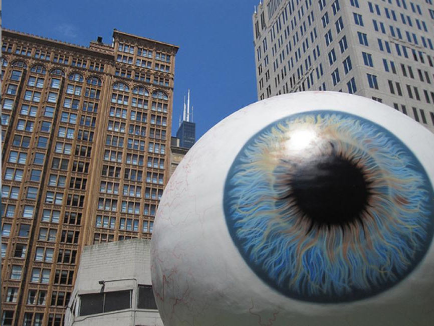 El gran Ojo (Chicago, EEUU).