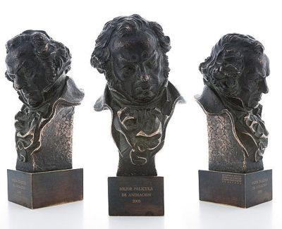 ¿Cómo se fabrica un Goya? Cada estatuilla es única