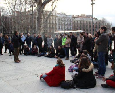 #UniEnLaCalle: clases universitarias en las calles de Madrid