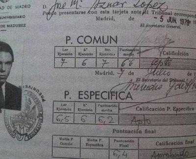 Ni Rajoy ni Aznar hubieran tenido beca para estudiar con la ley Wert