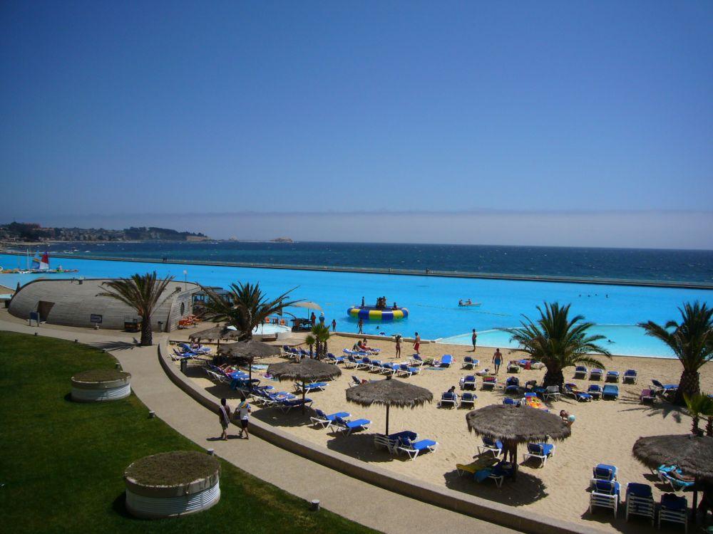 La piscina m s grande del mundo for Construccion piscinas chile