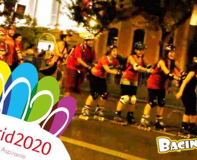 Así se vivió la candidatura de Madrid 2020 en la Puerta de Alcalá