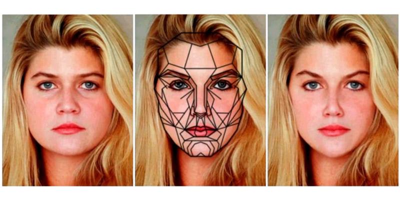 La plantilla de la cara perfecta