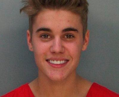 Detienen a Justin Bieber por conducir drogado y bajo los efectos del alcohol