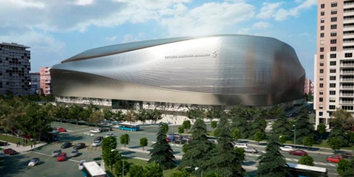 As ser el nuevo estadio santiago bernabeu tras su for Estadio bernabeu puerta 0