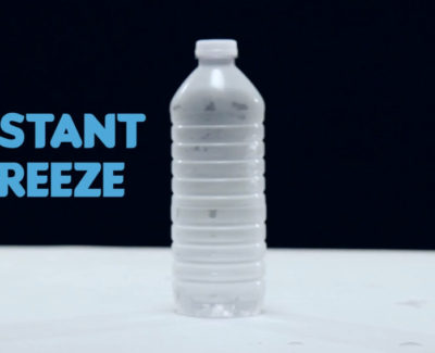 Ocho impresionantes trucos con agua