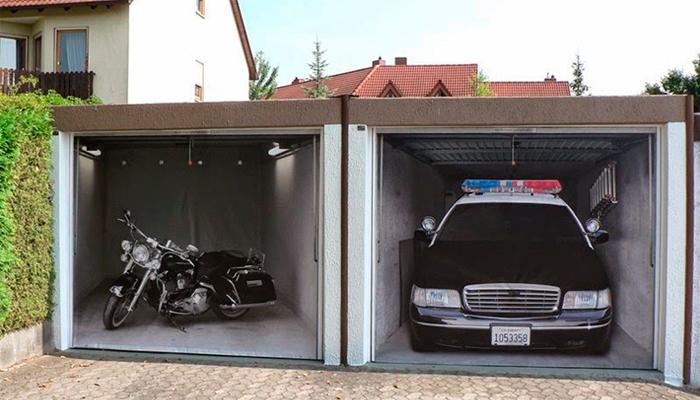 vinilos para garajes materiales para la renovaci n de la
