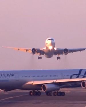 Gran susto por accidente en el aeropuerto El Prat de Barcelona