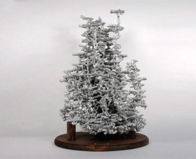 Rellena un hormiguero con aluminio fundido y este es el resultado