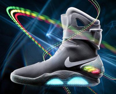Las zapatillas de Regreso al Futuro saldrán a la venta en 2015