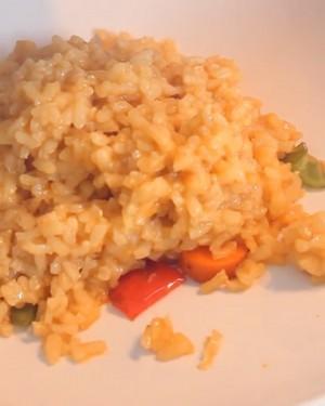Arroz con mostaza ¡fácil y vegetariano!