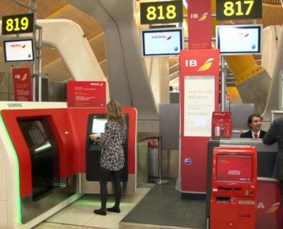 El primer sistema de autofacturación de equipaje en aeropuertos de España