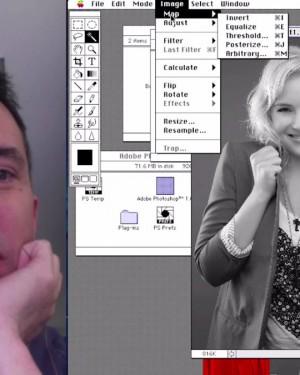 La reacción de diseñadores gráficos al volver a Photoshop 1.0