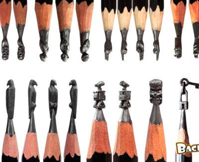 Salavat Fidai, el creador de impresionantes esculturas en la punta de un lápiz