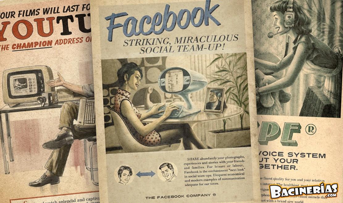 As ser an los anuncios de las redes sociales en los a os - Los anos cincuenta ...