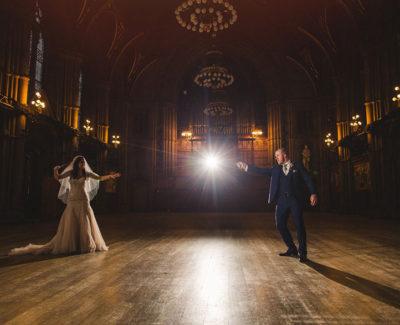 Una boda al estilo Harry Potter