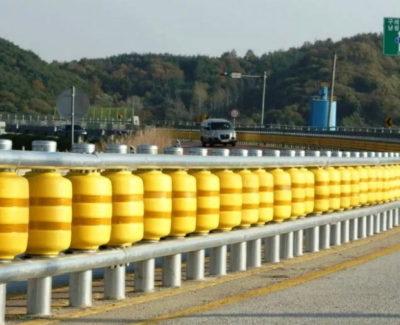 'Road Roller System', las nuevas barreras de protección en carretera