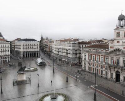 Cuando Madrid se queda completamente vacío