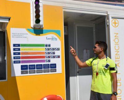 Los «solmáforos» llegan a las playas de España