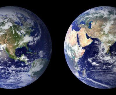 ¿Cómo quedaría el mapa del mundo si se derritieran los polos?